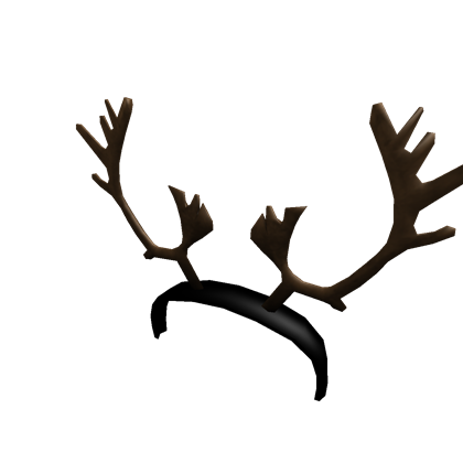 Real roblox. Reindeer antlers png picture transparent stock