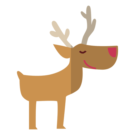 Reindeer antlers transparent png. Standing flat icon svg