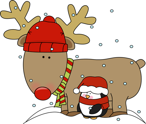 Funny christmas . Reindeer clipart simple png freeuse