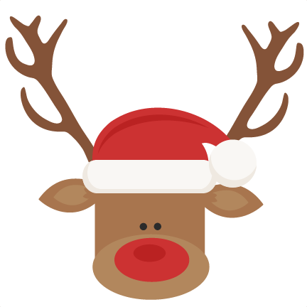 Reindeer hat png. With santa svg cutting