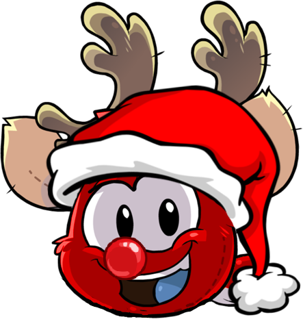 Reindeer nose png. Image the puffle planet