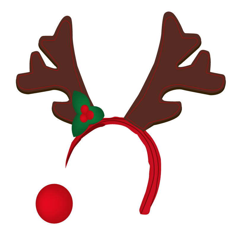 Reindeer nose png. Snapchat filter transparent stickpng