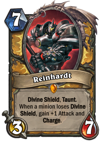 Reinhardt charge png. Just for fun four