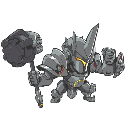 Reinhardt cute spray png. Lootwatch