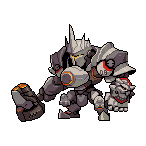 Reinhardt cute spray png. All overwatch pixel sprays