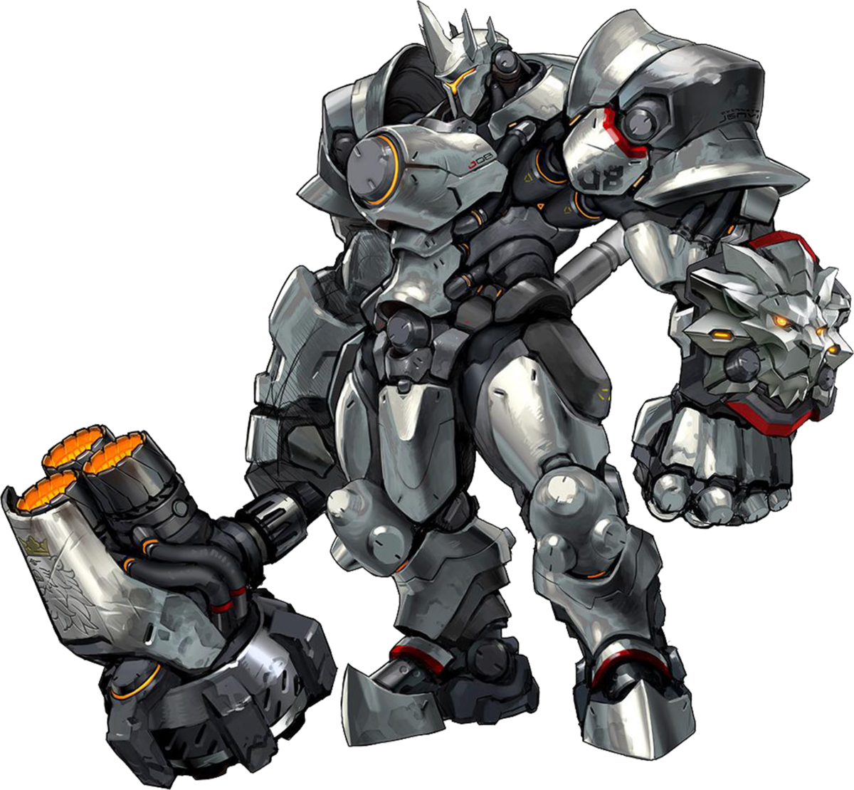 Reinhardt cute spray png. Overwatch wiki