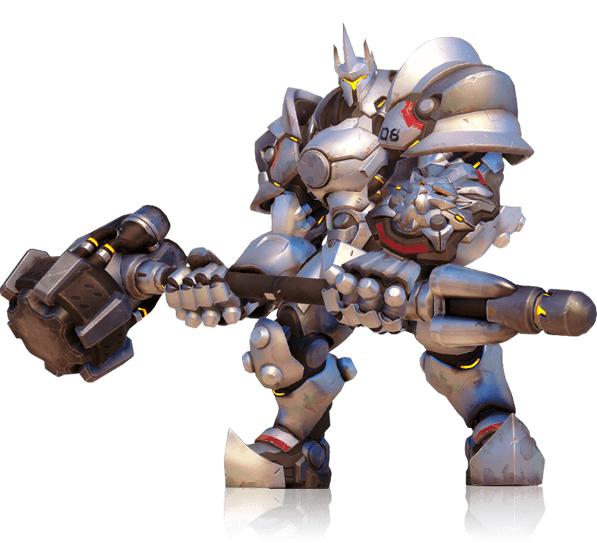 Reinhardt head png. Overwatch heroes html at