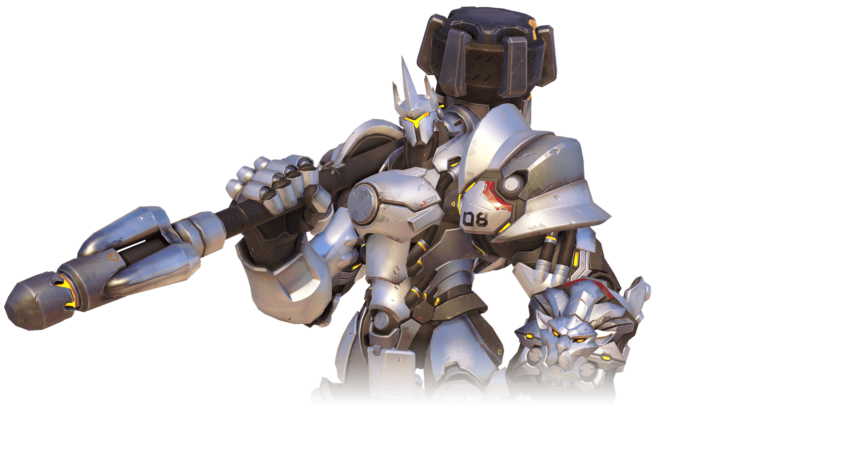 Reinhardt png overwatch. Transparent stickpng download