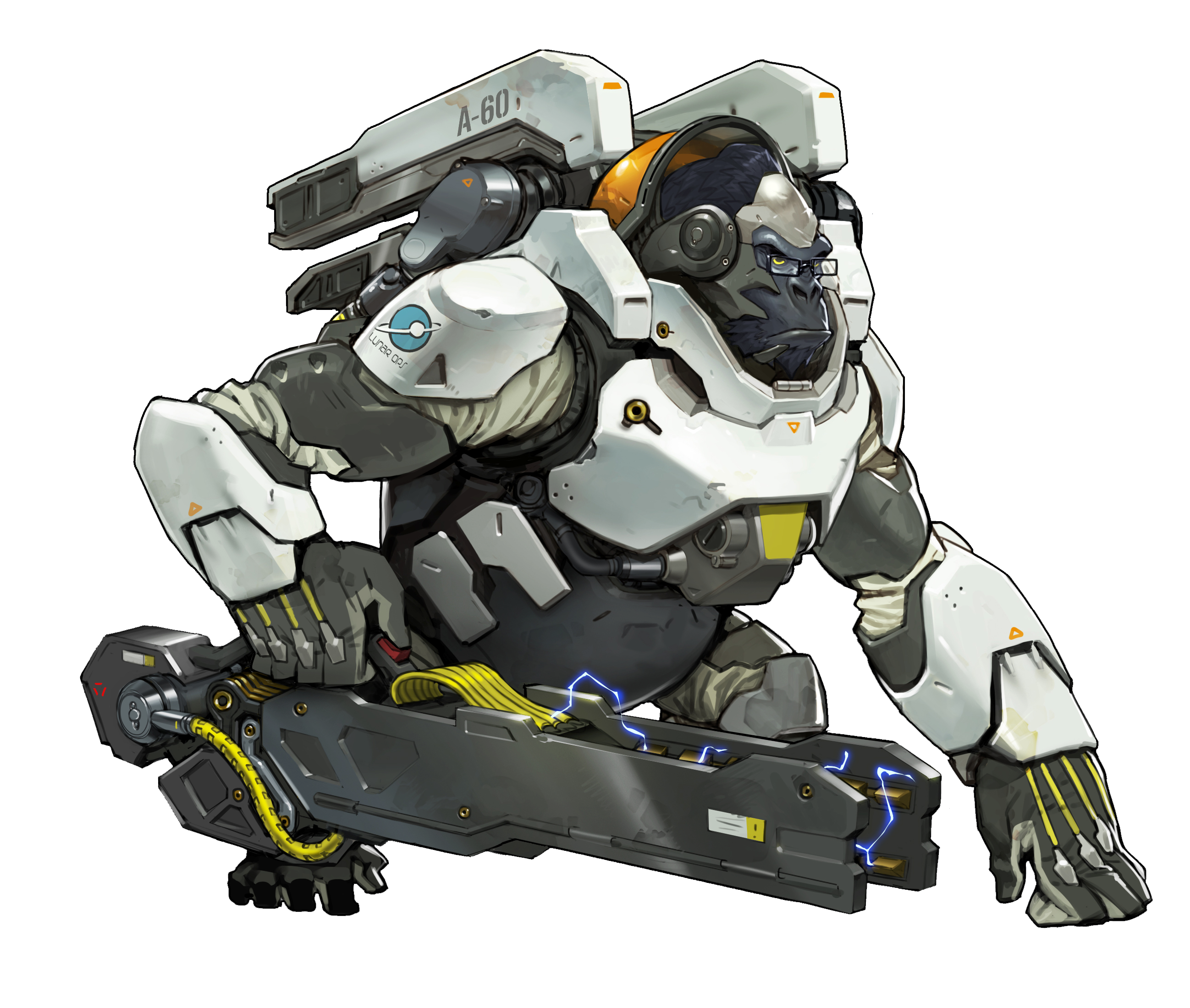 Reinhardt png overwatch. Gamegeex game geex blizzcon