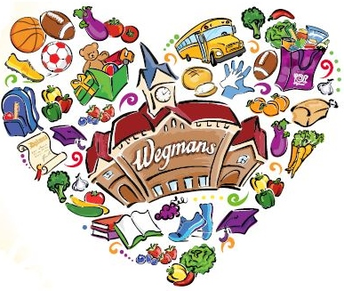 Relationship clipart school community. Making a difference wegmans