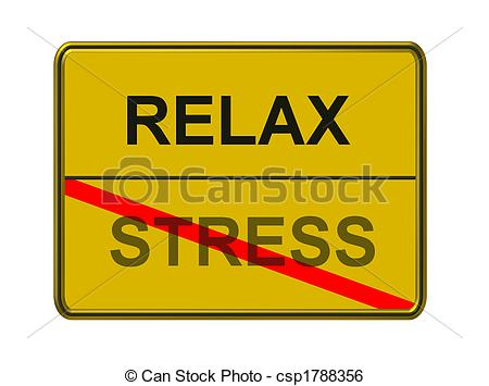 Relax clipart. Stress csp banner free library