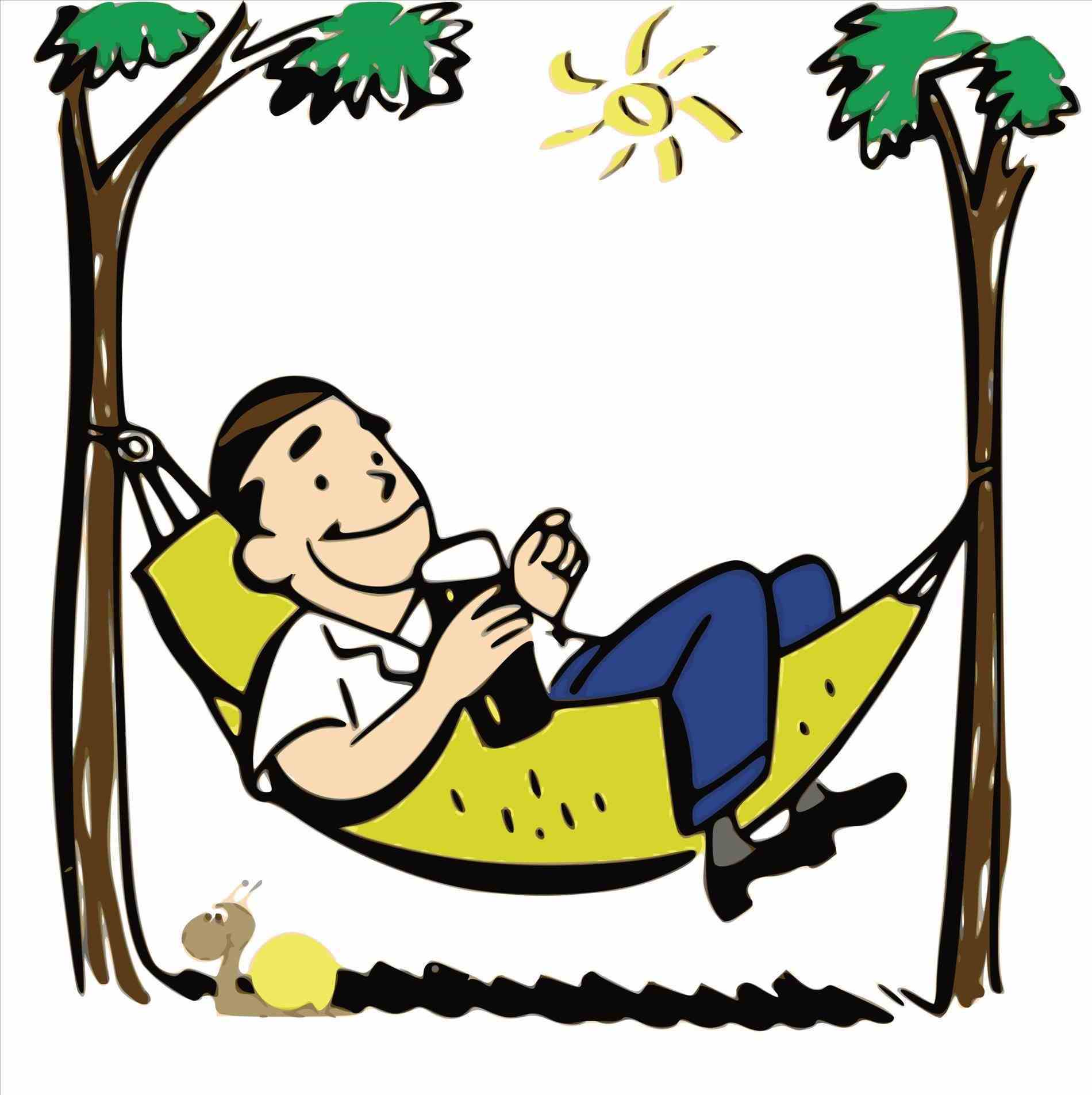 Relax clipart. Clip art free of