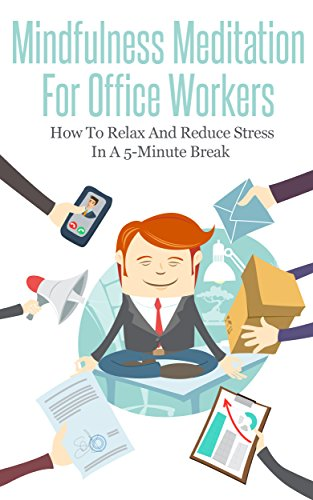 Relax clipart meditation. Mindfulness for office workers