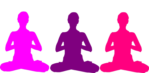 Relax clipart meditation posture. Position clip art at