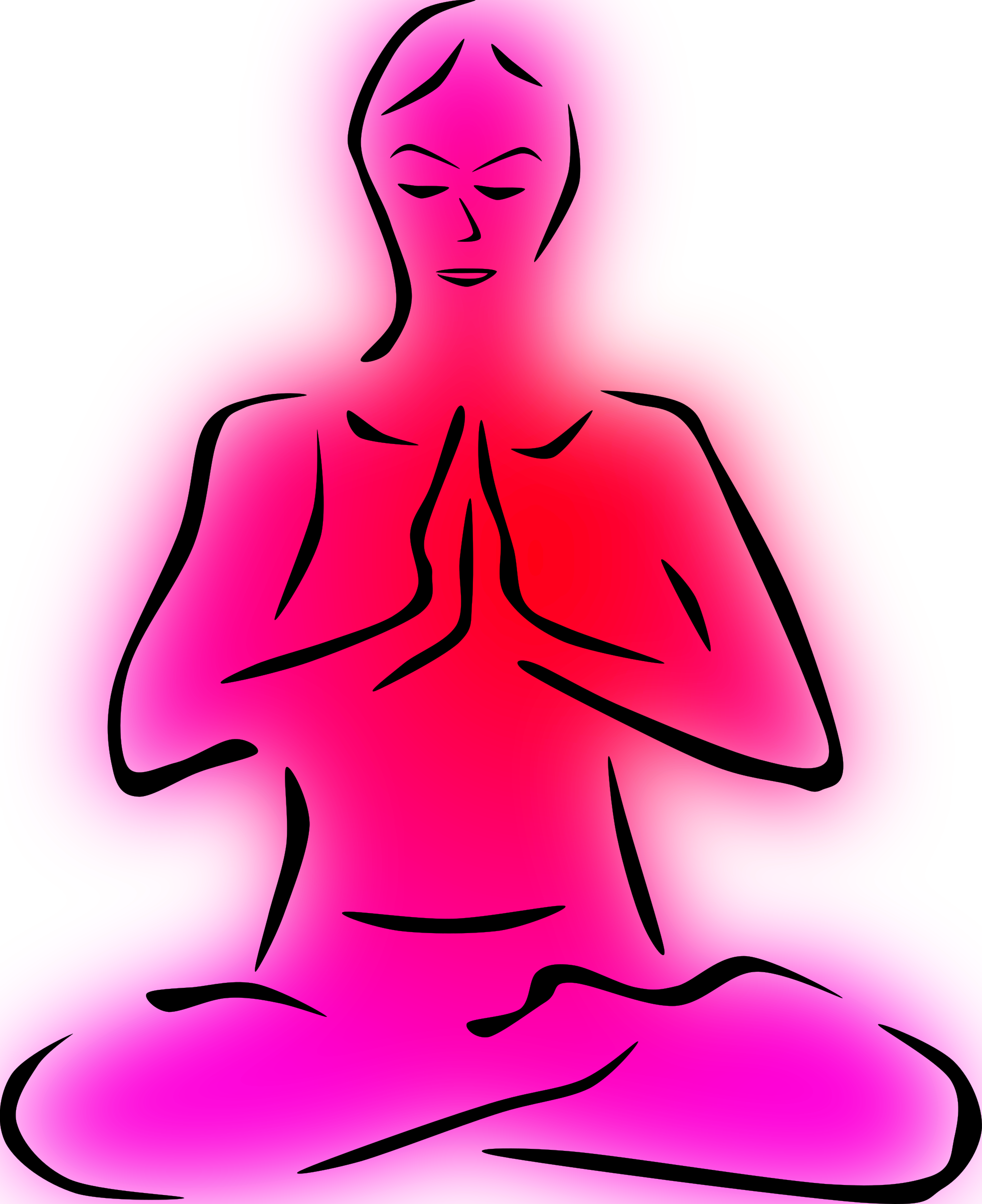 Relax clipart meditation posture. Free at getdrawings com