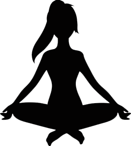 Yoga transparent. Woman relaxing clipart png