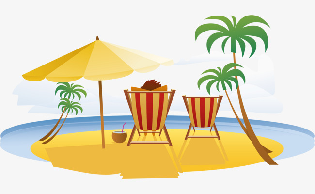Relaxing clipart summer. Relax in vacation tourism