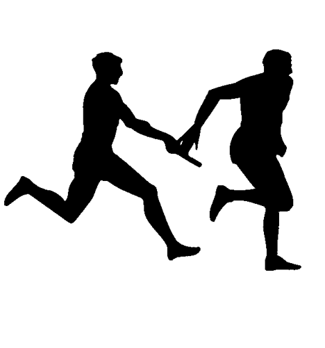 Relay runner png clip art. Collection of running