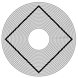 Relief drawing illusion. What humans do optical
