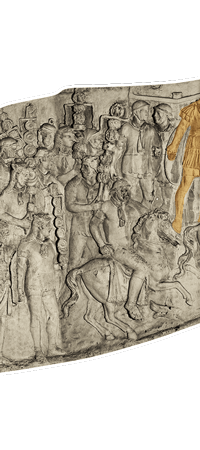 Relief drawing war rome. Trajan s column reading