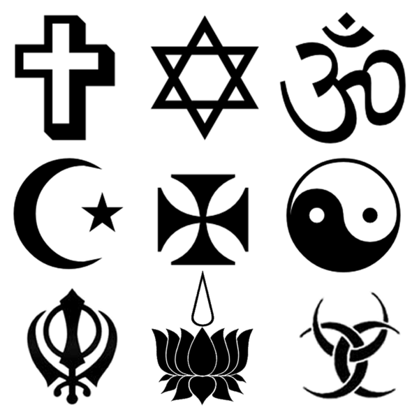 Religion cliparts image . Word clipart faith vector free library