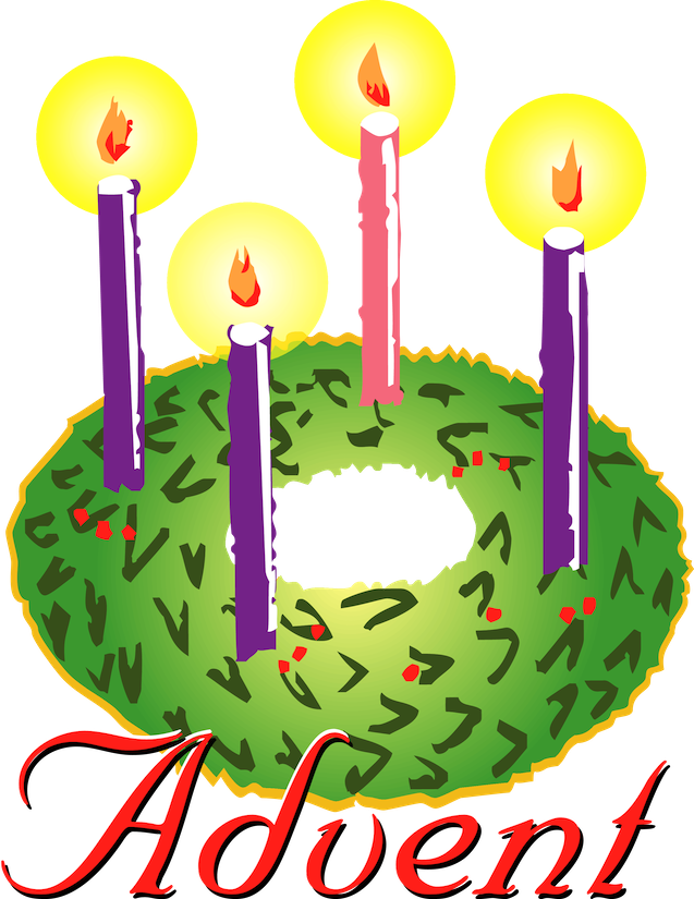 advent candles png