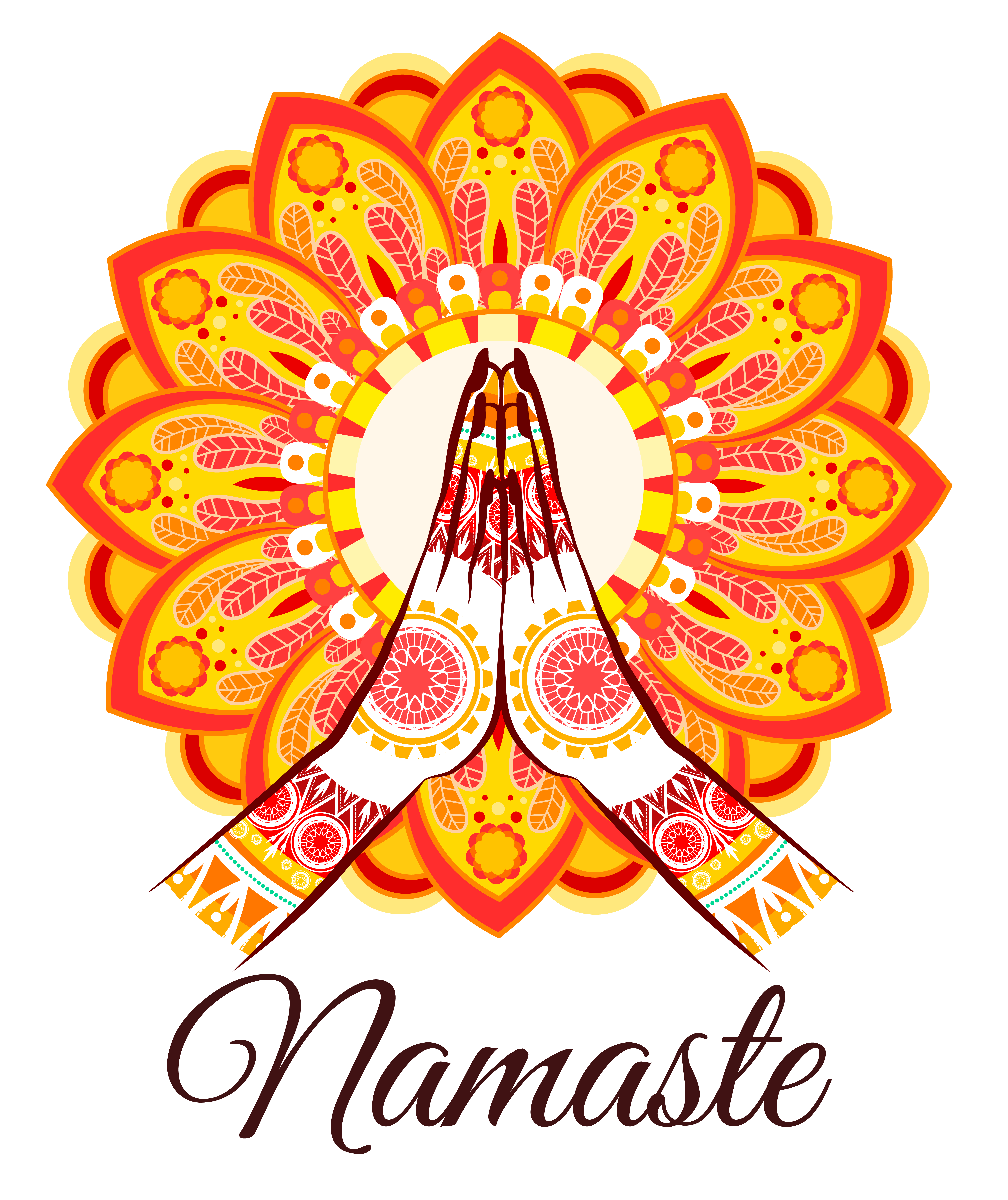 Religious vector sivan. Namaste png images files