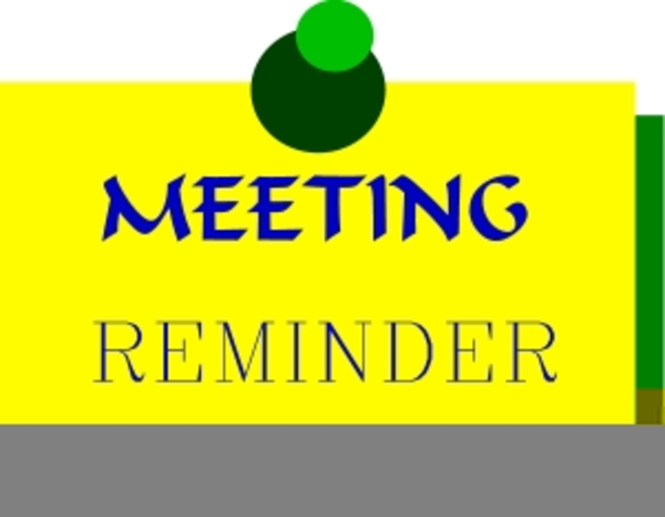 Reminder clipart board meeting. Free images at clker