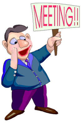 Reminder clipart board meeting. First united methodist church