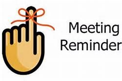 Reminder clipart board meeting. Jpg newsletter ministry by