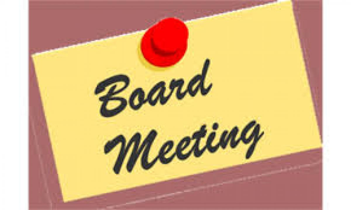 Reminder clipart board meeting. September wednesday at pm