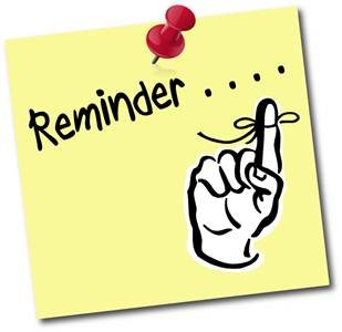 Reminder clipart cartoon. Free clip art pictures