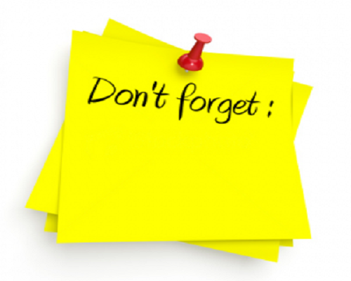 Reminder clipart don t forget. Send appointment reminders in