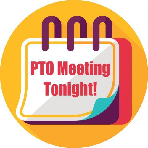 Reminder clipart meeting announcement. Fun to promote pto