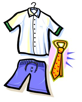 Reminder clipart uniform. Summer reminders teacher class