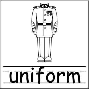 Reminder clipart uniform. Clip art basic words