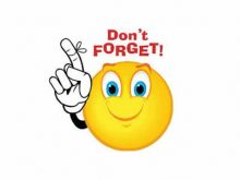 Reminder clipart weekly. Icon free clip art