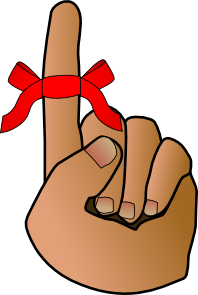 Reminder clipart finger. Hand clip art at