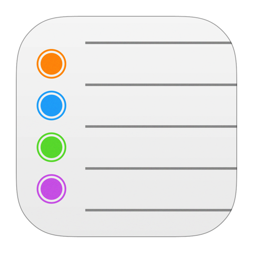 Reminder png ios. Reminders icon style iconset