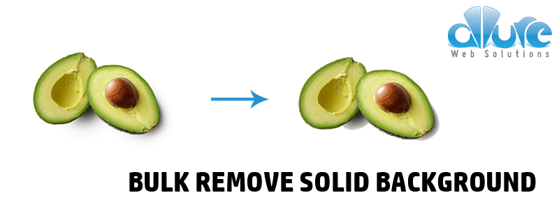 Remove white background from png. How to bulk or