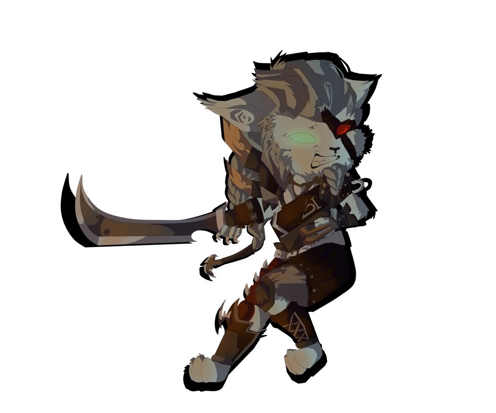Rengar drawing cool. From league of legends