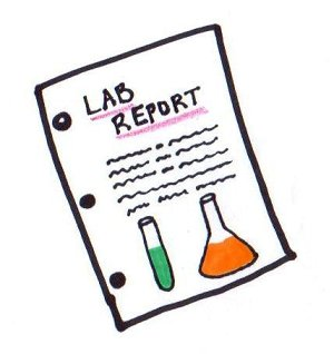Report clipart. Lab