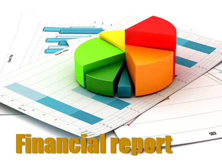 report clipart financial report