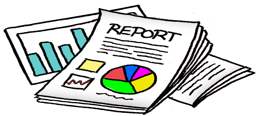 report clipart status report