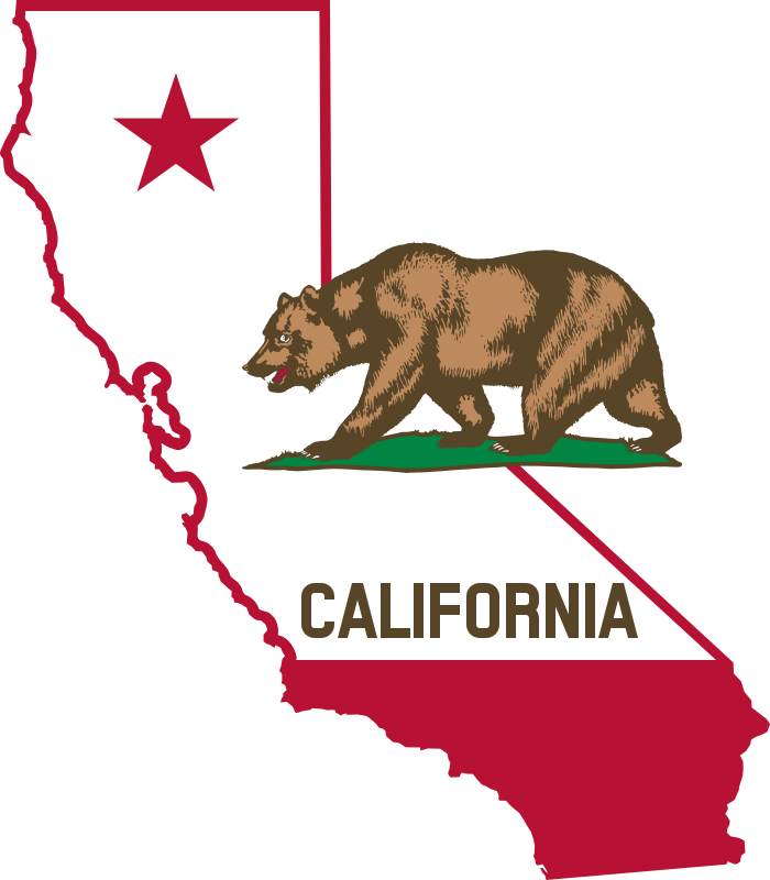 Republic drawing california. Flag the state of