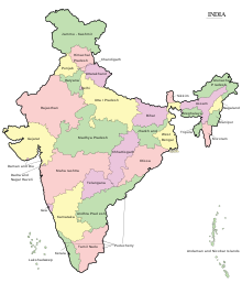 Republic drawing map bharat. Outline of india wikipedia