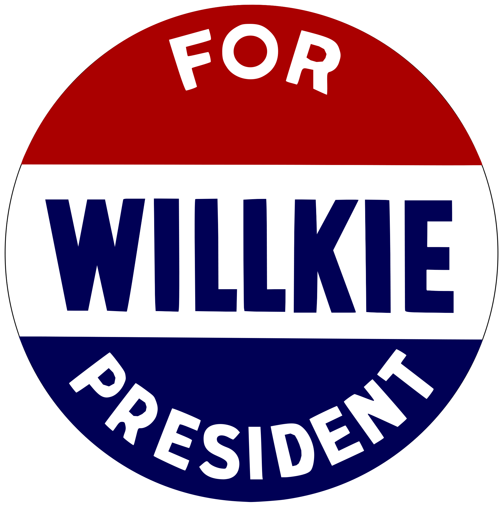 Republican buttons png. File willkie for president