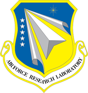Research vector art. Air force laboratory logo