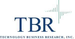 Research vector business. Tbr technology logo ai