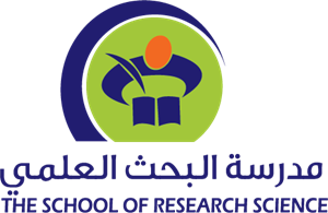Research vector food science. The school of logo